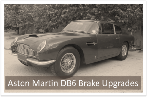Aston Martin DB6 Brake Upgrade