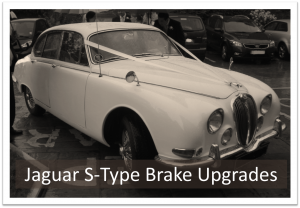 Jaguar S-Type Brake Upgrades