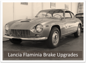 Lancia Flaminia Brake Upgrade