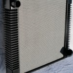flat floor e-type radiator, lightweight e-type radiator. early 3.8 e-type radiator, aluminium radiator for e-type