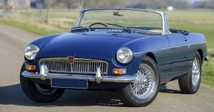MGB Vented brake kit, MGB GT four pot brake upgrade