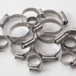 E-Type silicone hoses stainless steel hose clips