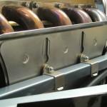 E-Type servo heat shield, jaguar e-type exhaust heat shield, jaguar e-type engine frame shield, e-type servo shield, e-type heat shield